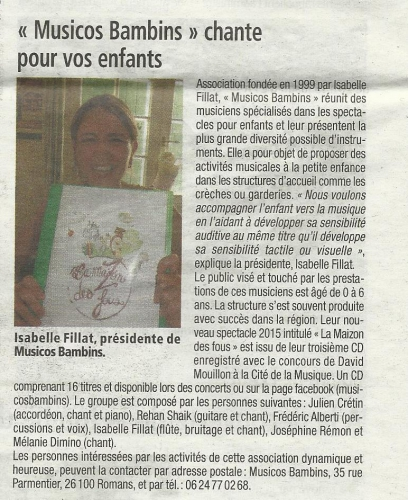 Article drôme Hebdo 20 08 15.jpg