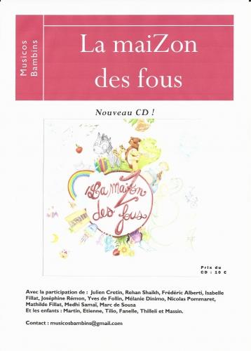 Affiche CD MaiZon des fous.jpg